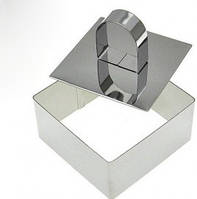 Форма для гарнира с прессом 8 см