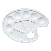 Палитра Irbis 0344 пластиковая белая