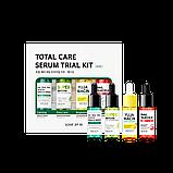 Набір з 4-х сироваток в мініатюрі BY SOME MI Total Care Serum Trial Kit Serum 14ml * 4ea, фото 2