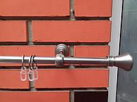 Карниз кований одинарний 16 мм Колозео сатин-2,4 м, фото 1