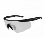 Очки Wiley X SABER ADV. Clear Matte Black Frame w/Bag Black