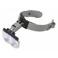 Бинокуляр Magnifier MG81002 з led підсвічуванням (x1,2; х1,8; x2,5; х3,5)