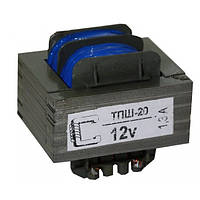 Ш-образный трансформатор ТПШ-20-220-50 20W 12V 1,3А Т-20 ТПН 53х45х47мм