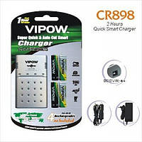 Зарядка CR898V (для AA/AAA від 12V і 220V)
