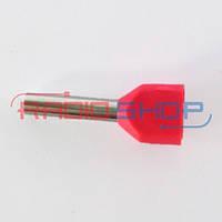 Оконцеватель провода двойной 2*0.75мм², изолированный (100шт.)