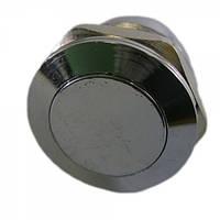 Кнопка антивандальна 19мм без фіксації, 3A 250V PBS