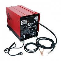 Сварочный полуавтомат 230 В, 7,5 кВт, 40-180 А, диаметр проволоки 0,6-0,8 мм INTERTOOL DT-4319