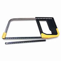 Ножовка по металлу 150мм мини рамочная, с пластиковой ручкой + запасное полотно 0-15-218 Stanley