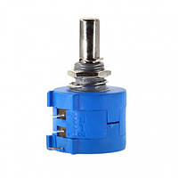 Резистор змінний 3590S-2-501; 500 Ом +-5%, 10 обертів KLS