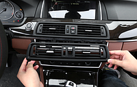 Дефлектор Обдува Климата Центральный BMW БМВ 5 F10 F11 F18 64229209136, фото 1