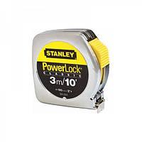 Рулетка 3м (10) х12.7мм Powerlock комбінована з корпусом з АБС-пластику 0-33-203 Stanley