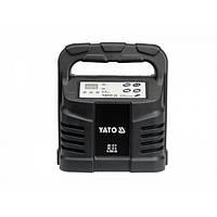 Зарядний пристрій 12 в, 12 А, 6-200 Ah, YATO YT-8302