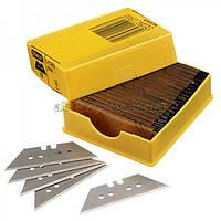 Лезвие ножа 1992Н (с отверстиями) для отделочных работ усиленное (100 шт) 1-11-916 Stanley