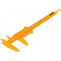 Штангенциркуль пластиковий VOREL: L = 150 мм, V-15120