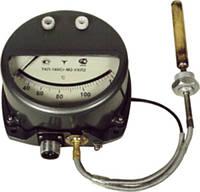 Термометр манометрический сигнализирующий ТКП-160 Сг-М1 10м, 0…120 ( 160 мм балон)