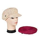 Кепка женская плетеная, фото 2