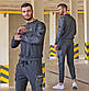 """Чоловічий спортивний костюм демісезонний 2126 """"BLM"""" в кольорах, фото 6"""