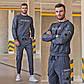 """Чоловічий спортивний костюм демісезонний 2126 """"BLM"""" в кольорах, фото 3"""