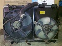 Радиатор основной , кондиционера, диффузор с вентиляторами Mitsubishi Carisma