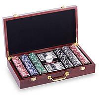 Набір для покеру LasVegas 300 фішок