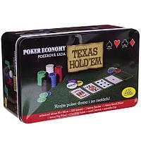 Набір для покеру Texas 200 фішок
