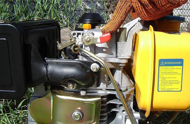 Дизельный двигатель Sadko DE-300M фото 6