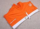 Плавки от бренда AQUX оранжевые с карманом на молнии, фото 5