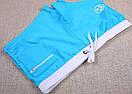 Чоловічі плавки шорти AQUX в яскравому бірюзовому кольорі, фото 7