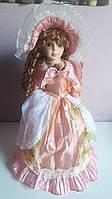 """Декоративна сувенірна лялька, фарфоровий, колекційна Porcelain doll """"Марія"""" (40 см), 1303-13"""