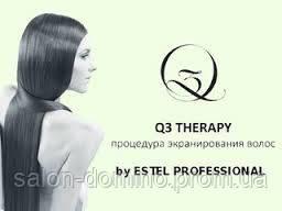 """Екранування волосся Q3 Therapy, салон краси """"Доміно"""", Львів(Сихів)"""