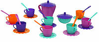 Набор посуды Тигрес Ромашка в сумке, 28 элементов (39129)