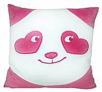 Подушка Тигрес Панда - смайл влюбленный 33 см (ПД-0152)