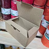 Самозбираюча картонна коробка - 145 × 95 × 60 на 0,3 кг, фото 2