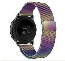 Ремешок BeWatch для Samsung Galaxy Watch 46 | 3 45mm | Gear S3 миланская петля 22мм Milanese loop Браслет