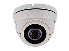 IP відеокамера 3 Мп вулична/внутрішня SEVEN IP-7232PA (2,8-12), фото 2