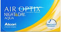 Контактные линзы Alcon Air Optix Night & Day AQUA (BC=8.4, DIA=13.8) 6 линз