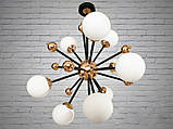 """Люстра в стиле Loft - """"Молекула"""" на 9 ламп, фото 2"""