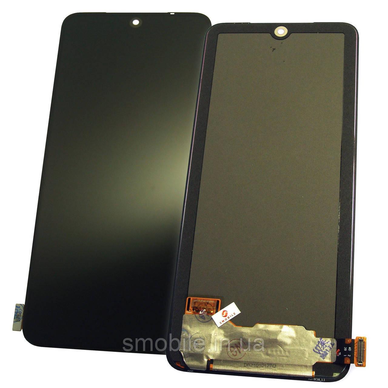 Дисплей Xiaomi Redmi Note 10 4G / Redmi Note 10S з сенсором, чорний (оригінал Китай)