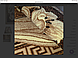 300*600 см Килим Gold виробник Karat Carpet Україна з абстрактним малюнком, фото 4