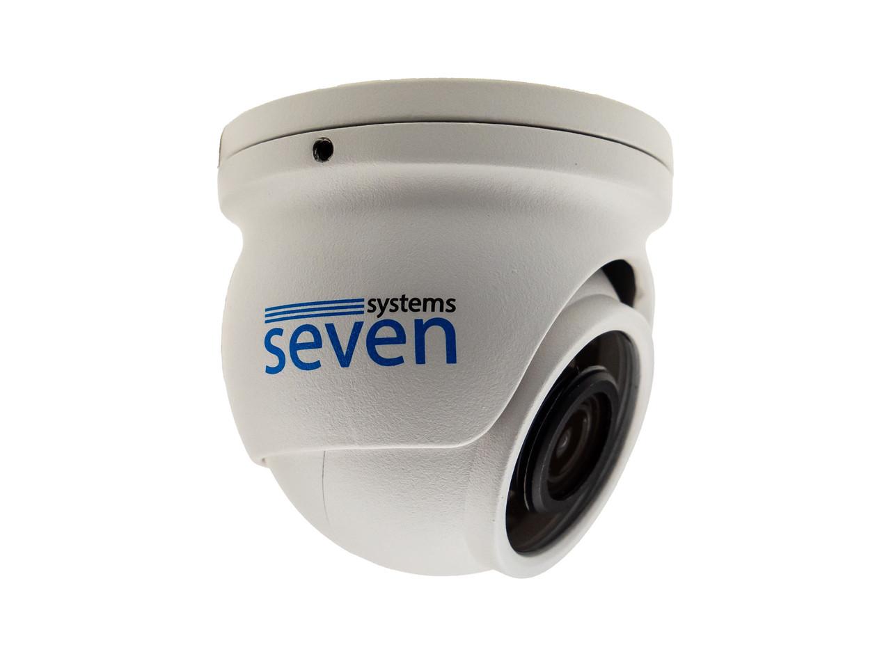 MHD відеокамера 2 Мп вулична/внутрішня SEVEN MH-7612LM (3,6)