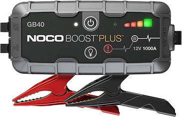 Пуско-зарядний пристрій Noco GB40 Boost Sport 1000A UltraSafe Lithium Jump Starter, IP65, Power Bank (код