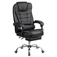 Кресло офисное Sidney black экокожа