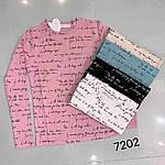 Женский лонгслив, х/б , р-р универсальный 42-46 (бирюза), фото 2