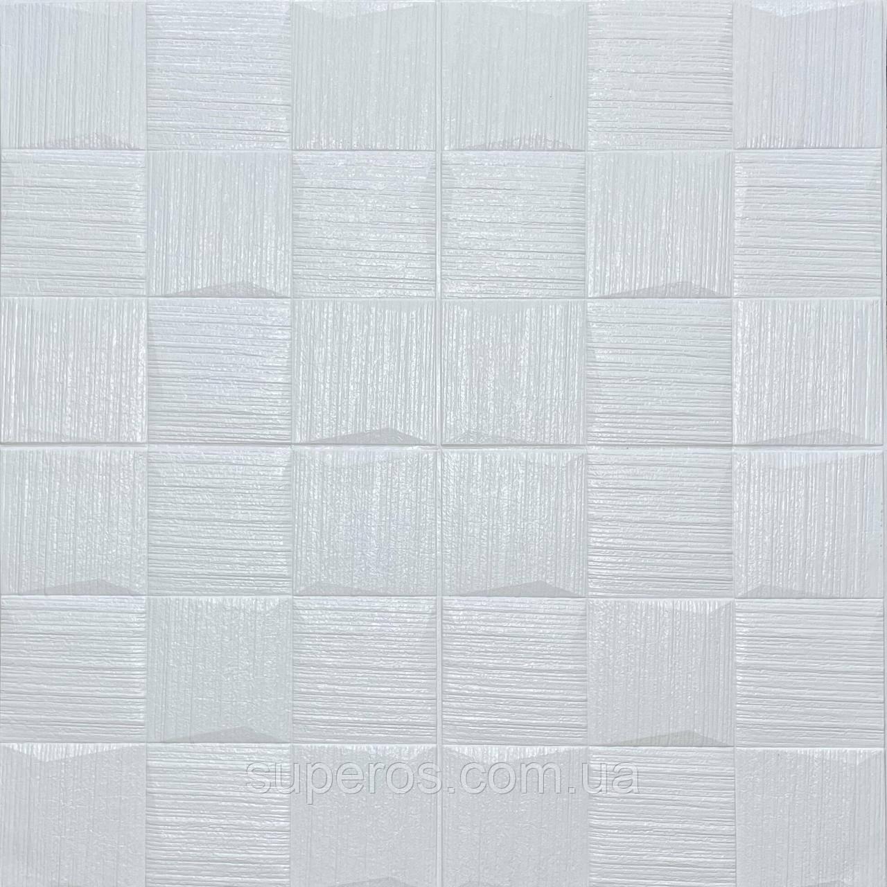 Самоклеюча декоративна потолочно-стінова 3D панель 700х700х5мм (185)