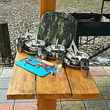 Набор для пикника посуда на 6(12) персон F-16, фото 2