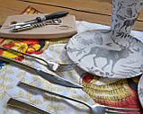 Сумка набір посуду Пікнік на 2 персони F-16 подарункова ексклюзив іменна, фото 4