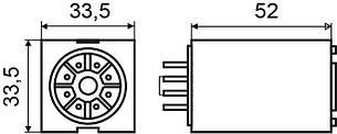 Реле МK3P (DC 24 V) АСКО, фото 2
