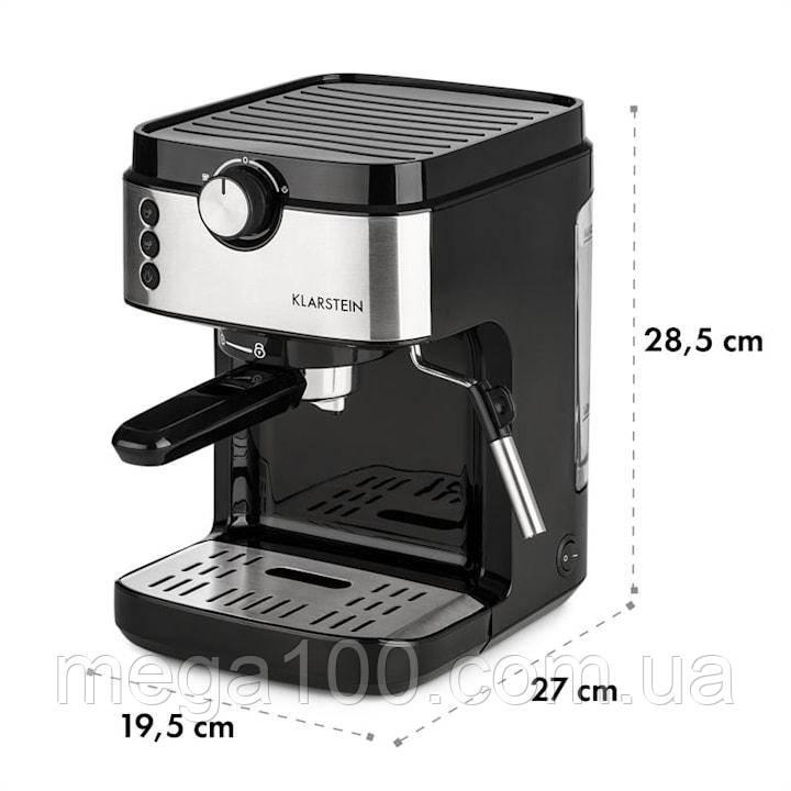 Кофемашина, кофеварка, капучинатор, кофейный аппарат klarstein BellaVita Espresso