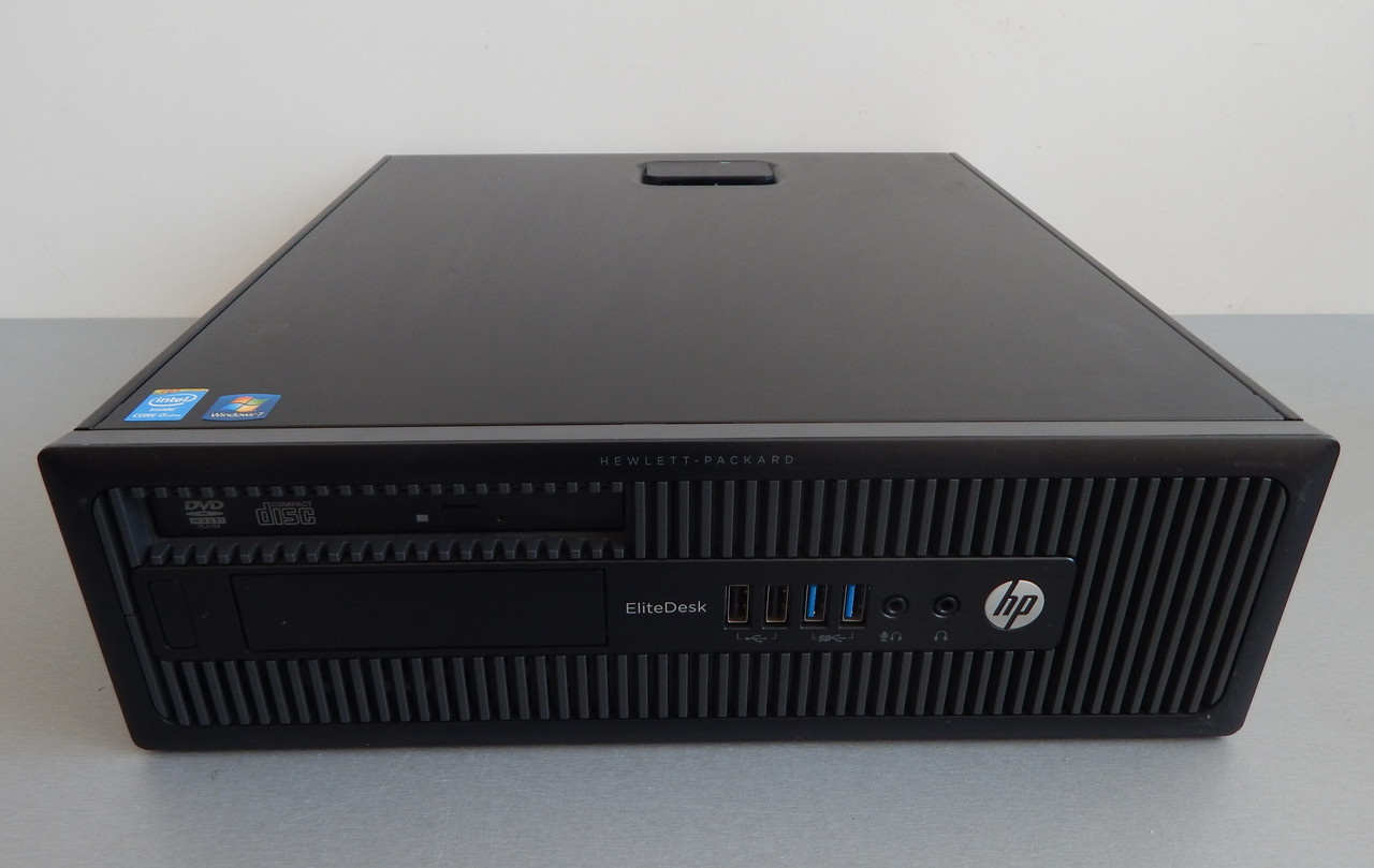 Офисний вариант Системный блок HP EliteDesk 800 G1 SFF I5-4590/ 4Гб ОЗУ/250hdd/ Intel HD Graphics 4600