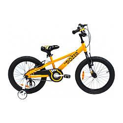 "Велосипед ROYAL BABY BULLDOZER 18"" Жовтий"